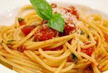 Massa - Spaghetti / by Elisabete FMS