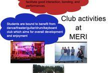 #Club Activities AT #MERI!