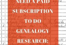 Geanology research