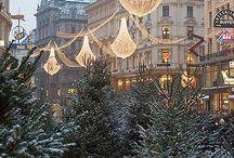 European-Style Christmas Market