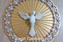 Divino Espirito Santo / instagram: @atelie_cambiocco   whatsapp: 19 982534219  www.elo7.com.br/ateliecambiocco