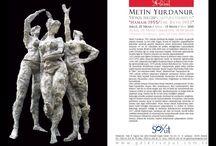 """Exhibition/Sergi / ‼️Davetlisiniz / You are invited‼️ Metin Yurdanur """"Heykel Sergisi/Sculpture Exhibition"""" """"Hamam 1955/The Bath 1955"""" Sergi: 25 Nisan/April - 13 Mayıs/May 2015 Açılış: 25 Nisan Cumartesi, 18:00-20:00 Opening: Saturday April 25, Time: 18:00-20:00 Galeri Soyut, A Salonu www.galerisoyut.com.tr"""