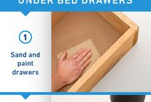 Under bed storage drawers