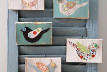 Malerier / Ideer til vægudsmykning