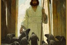 "They Know My Voice /  ""I am the good shepherd; I know my own sheep, and they know me, just as my Father knows me and I know the Father.  So I sacrifice my life for the sheep.  I have other sheep, too, that are not in this sheepfold.  I must bring them also.  They will listen to my voice, and there will be one flock with one shepherd. -- John 10:14-16