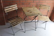 Up cycled for your garden / Repurposed items for outdoor living