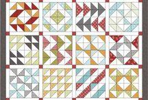 Quilt sampler / Assemblage de blocs differents