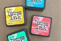 Distress Ink Combos