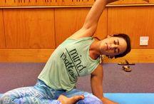 Yoga Inspiration / GETTING BENDY & GOOD VIBES