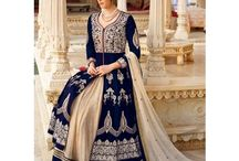 GOWNS / the idea of indo western outfit in great manner