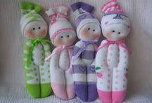 muñecos de calcetines
