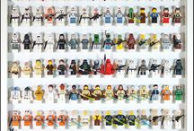 Lego minifigs display