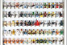 Lego minifigs display