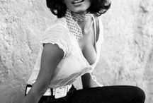 "Style Icon: Sophia Loren / ""I want everything-all of it"" -Sophia Loren-"