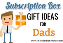 Father's Day Gift Ideas / Looking for the perfect gift for Dad this Father's Day? Here are some subscription box gift ideas for dads, husbands, and boyfriends as well as special, limited edition boxes just for Father's Day! / by Find Subscription Boxes
