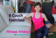 8 Couch Exercises - Fitness Fridays