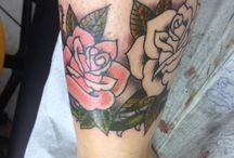Rose tattoo, traditional style!