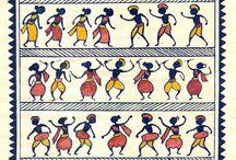 Paintings - Indian Saura Tribal