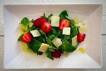 Ensaladas / Ensaladas de todo tipo: verduras, frutas, de arroz, de pasta.... Ideas frescas para el verano