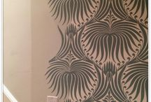 The Hunt for the Ultimate Wallpaper / Small powder room? Boring bathroom? Focal wall, lonely nook, large canvas or screen, I will fulfil my quest to vanquish your decorating doldrums (and maybe find a nice, reasonable choice for my own house while being the white knight of naked walls).  / by Handmade Intrigue