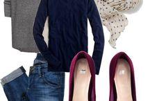 Grey&Navy autumn / Inspiration for autumn fashion