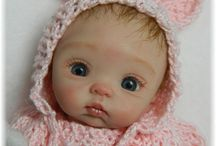 polymer clay babies