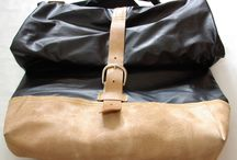 mens bag / pánská volnočasová taška, materiál kůže a koženka
