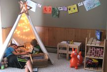 the playroom : teepee time