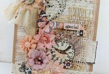 cards shabby & vintage