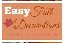 DIY - Fall / Apples, Leaves, & Pumpkin Spice!  Craft ideas for all things fall.