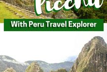 -South America Travels- / Travel inspiration for traveling South America. This board contains information about the culture, the country, trips, the people, traditional food and many more.
