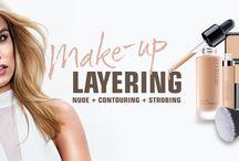 Artdeco | Layering : Nude, Contouring, Strobing / Le layering est un secret de maquillage très tendance, Artdeco y consacre une toute nouvelle gamme et vous permet d'obtenir le teint de vos rêves.