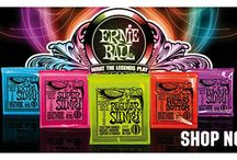 Ernie Ball Strings at Guitarbitz / Play like the legends themselves with Ernie Ball Strings.