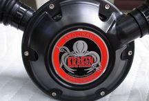 Argonaut Kraken Double Hose Regulator / All about the Argonaut Kraken the first MODERN double hose regulator and the divers who dive them!  #ArgonautKraken