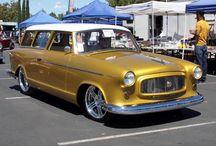Amc = Nash / Rambler /  Javelin / (American Motors Corporation)