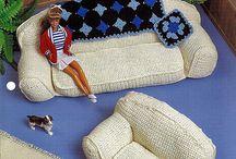 barbie meubeltjes gehaaht
