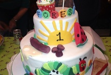 cake designs / by Barbara Feller