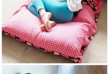 Pillow bed
