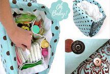 Diaper bags tuto