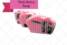 Online Buy Pink Zebra Soap / #PinkZebra, has pleasent fragrance soap that leave a nice scent on skin. #PinkZebra is the combination of goat milk, coconut oil and shea butter.