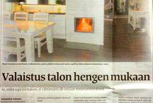 Nokian Uutiset haastattelu 15.10.2014,  kirjoittanut Annastiina Salonen / Marikan SisustusStudio