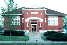 Carnegie Library Buildings / I find Carnegie libraries fascinating.