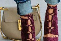 Färgglada skor
