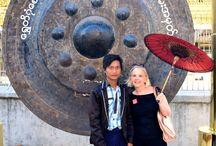 ASIA-2014 / My annual Asia trip took me from 2/1-3/8-2014. Started in Saigon/Hue/Danang/Saigon Yangon/Ngapoli/Yangon/Bagan/Mandalay/PyinOoLwin/Inle Lake/Yangon Ended as every year in Bangkok and home after 5 weeks all too soon.