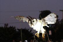 Lantern puppet