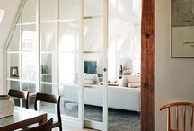 Glasdörr v-rum/hall