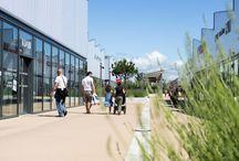 Retail park GREEN7 / Ouvert en mai 2012, GREEN7 se situe à Salaise-sur-Sanne (38). C'est un Greencenter FREY certifié HQE.   Ce retail park s'étend sur 21 000 m². Pour compléter le merchandising actuel, une extension de 15 000 m² est prévue dès 2015.