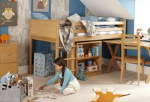 Country style children's bedrooms / Create the perfect setting for sweet dreams and imaginative role play for your little ones to enjoy...