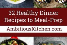 Healthy Meal Prep Recipes / Healthy meal-prep recipes to make for your weekday.