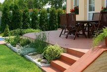 zahrada + terasa